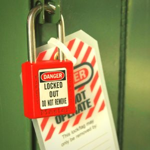 OSHA Compliant Lock out Tag out equipment